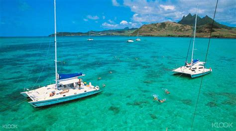 Catamaran Rental Mauritius by Catamaran To Ile Aux Cerfs Klook