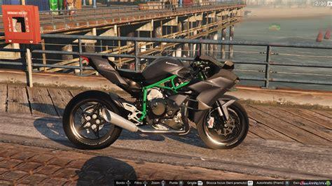 Kawasaki Ninja H2/h2r V3.1 для Gta 5