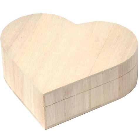 boite 224 bijoux coeur en bois 17 cm boite 224 bijoux 224 d 233 corer creavea