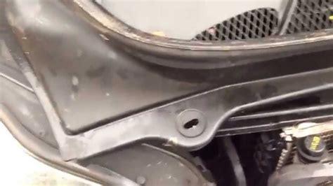 volvo xc water leak repair  xc    youtube