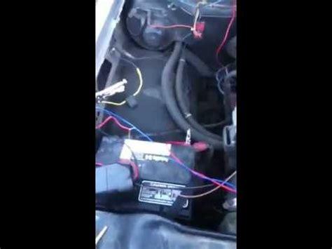 simple car alarm install youtube