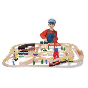 train table set for 2 year old wooden train set the perfect gift