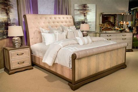 Valise Bed By Aico Furniture  Aico Bedroom Furniture