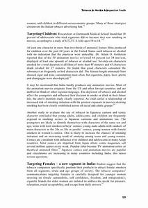 essay on tobacco high school essay examples articles on tobacco use