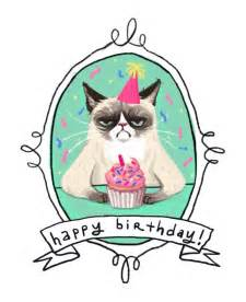 happy birthday cats 1000 ideas about grumpy cat birthday on