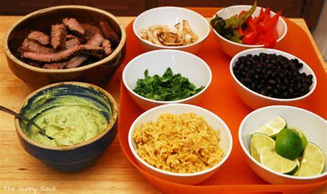 cuisine mexicaine fajitas fajita dinner the gunny sack