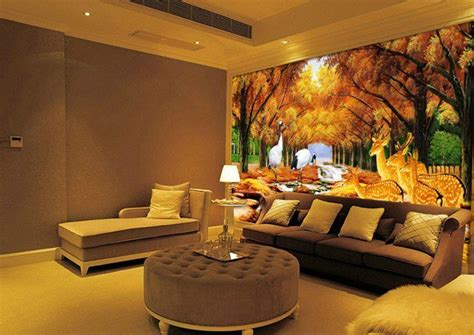 divine nature themed wallpapers   dream living room