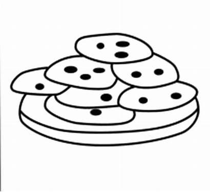 Cookie Coloring Cookies Sweet Chocolate Sugar Cartoon