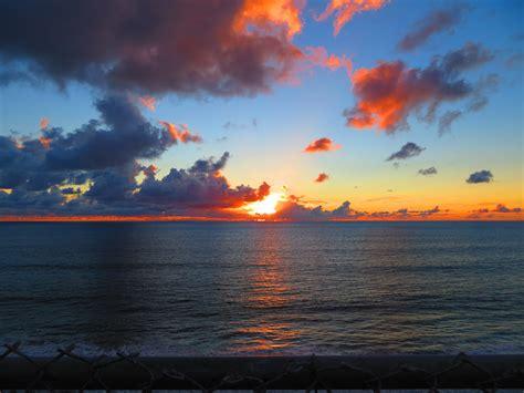 sunset beach sunrise clouds sea sunset  image