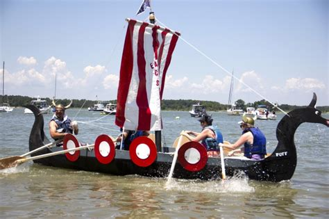 Avon Cardboard Boat Regatta by And At Oxford Cardboard Boat Race News
