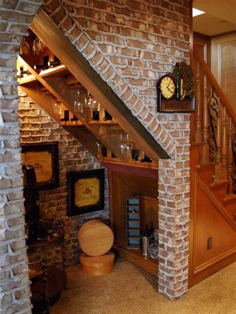 bar  stairs ideas  pinterest