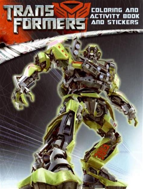 transformers coloring book transformers coloring and activity book transformers books