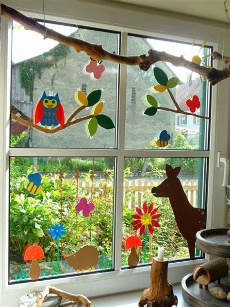 Herbst Fenster Dekoration by Fensterbilder Basteln 64 Diy Ideen F 252 R Stimmungsvolle