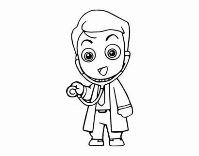 Doctor Coloringcrew Auscultating Coloring