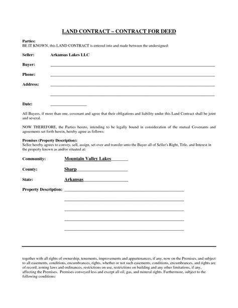 colorado real estate purchase agreement simple form simple yet best blank land contract form for deed with