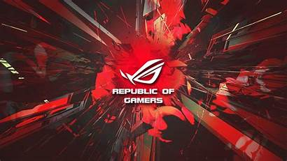 Rog Asus Wallpapers Background Gamers Republic Backgrounds