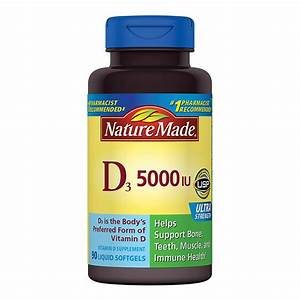 Vitamin D3 Berechnen : nature made vitamin d3 5000 iu dietary supplement liquid softgels walgreens ~ Themetempest.com Abrechnung