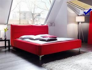 Bett Mit Lattenrost 180x200 : polsterbett cloude bett 180x200 cm rot mit lattenrost matratze wohnbereiche schlafzimmer betten ~ Bigdaddyawards.com Haus und Dekorationen
