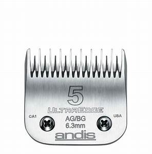 Andis ultraedge clipper blade 5 skip tooth blades for Andis dog clipper blade guide
