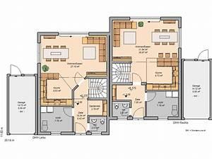 Haus Grundrisse Beispiele : doppelhaus grundriss beispiele ~ Frokenaadalensverden.com Haus und Dekorationen