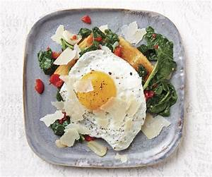 Fried Egg on Toast with Kale and Pickled Peppers - Recipe ...