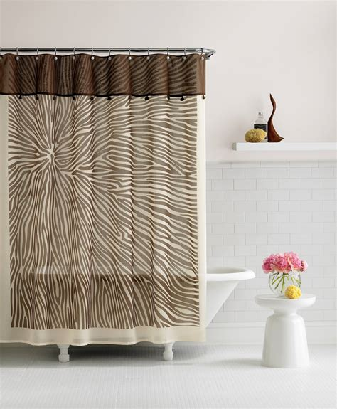 Shower Curtain Drapes by Bed Bath And Beyond Shower Curtains Offer Great Look And