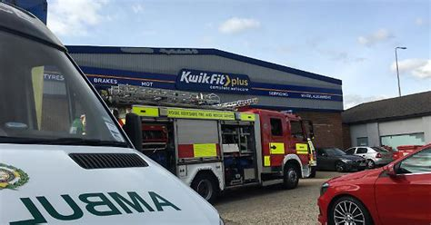 Kwik Fit Employee Recovering After Workshop Accident In