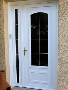 porte d entree vitree pvc swyzecom With porte d entrée pvc avec barre de maintien salle de bain
