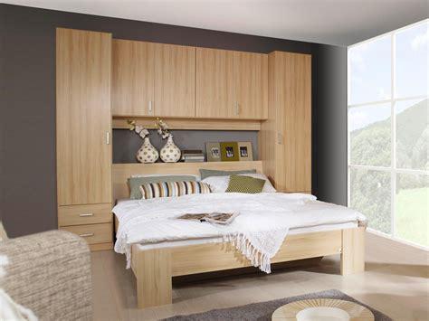 chambre lit pont adulte tête de lit avec rangement avec étagère lit pont