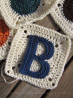 easy   crochet letter patterns patterns hub