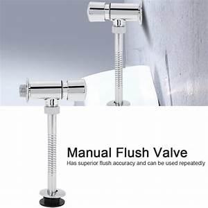 Dn15  20mm Manual Flush Valve Hotel Office Home Bathroom
