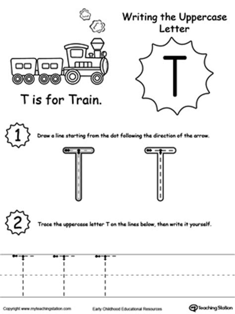 letter t tracing worksheets preschool writing lowercase letter t myteachingstation 16550