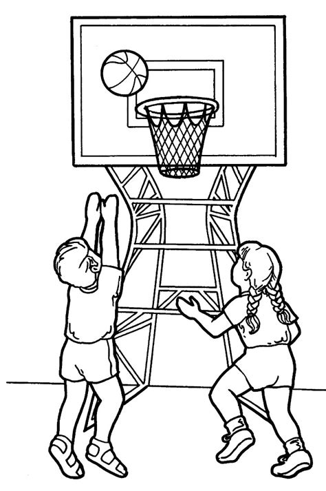 printable sports coloring pages  kids
