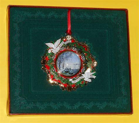 2013 white house christmas ornament woodrow wilson 28th
