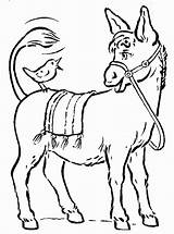 Donkey Coloring Pages Coloriage Donkeys Dessin Nice Colorier Headed Ass Animal Animals Drawing Idea Cheval Adult Children Coloring2print History Par sketch template