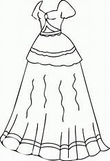 Coloring Pages Clothes Clothing Printable Dresses Preschoolers Clipart Colouring Winter Sheets Preschool Barbie Getcolorings Colorings Library Popular Wecoloringpage sketch template