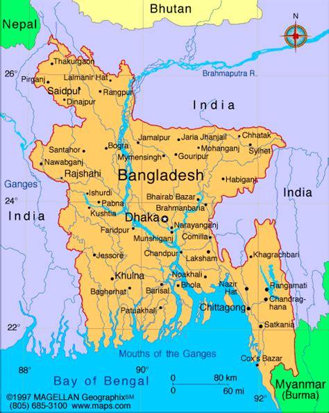 bangladesh map pic