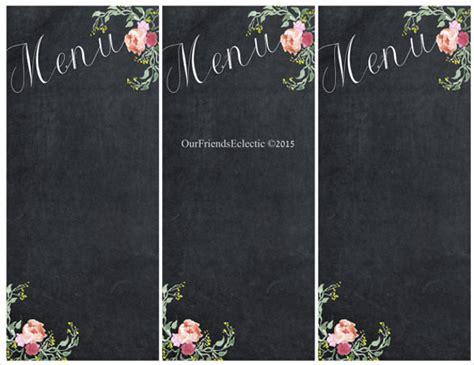 chalkboard template 20 sle chalkboard menu templates sle templates