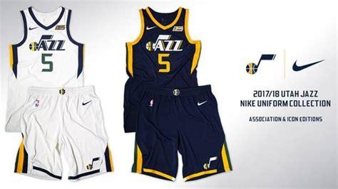 utah jazz colors utah jazz unveils new uniforms for 2017 18 season kutv
