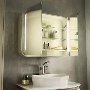 Miroir Meuble Salle De Bain : miroir salle de bain lumineux en 55 designs super modernes ~ Dailycaller-alerts.com Idées de Décoration