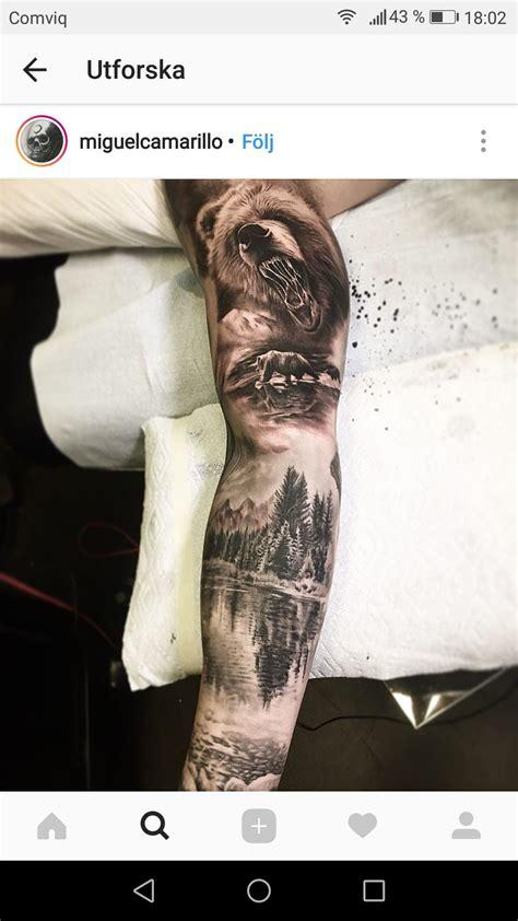 pin  justin dillon  forest tat tatouage tatouage