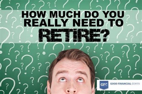 Gf¢ 012 How Much Do You Really Need To Retire? Good