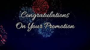 18 Best Collection of Congratulations on Your Promotion