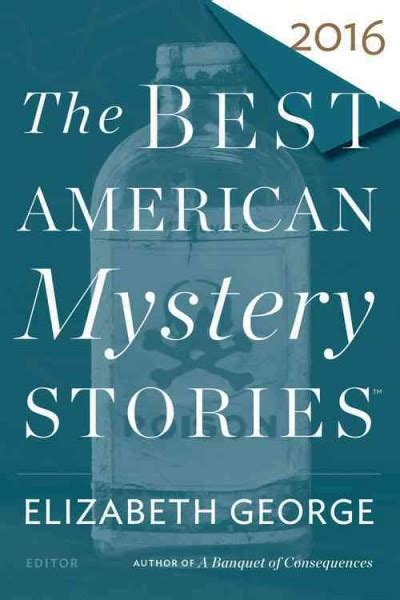 The Best American Mystery Stories 2016 Edited By Elizabeth