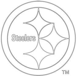 Wwe Logo Pumpkin Carving Patterns by Printable Steelers Logo 18 Steelers Coloring Pages