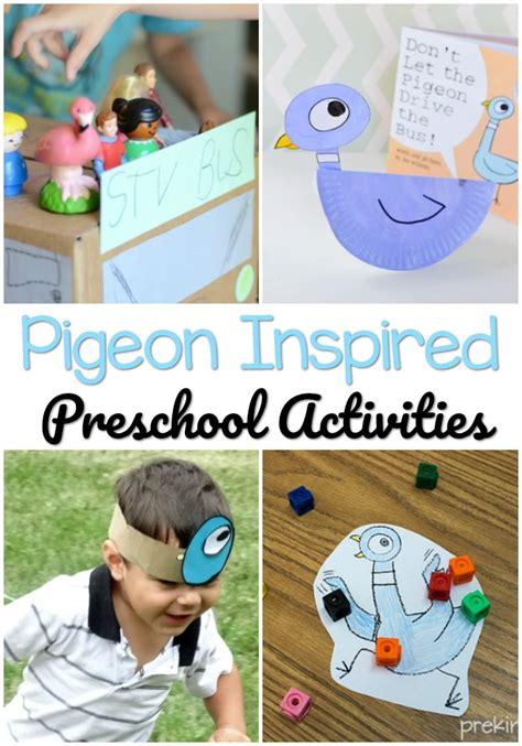 pigeon activities for preschoolers pre k pages 438 | Pigeon Book Preschool Activities