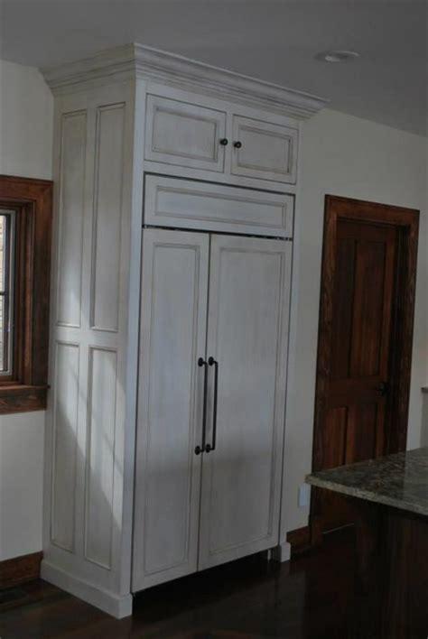 cabinet doors kitchen a bi series sub zero with a flush installation panels 1911