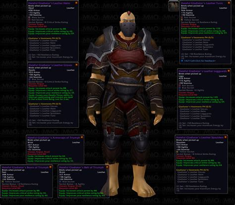 rogue gear gladiator hateful mmo champion hit wotlk wow 2008 mmoc s5 rating warcraft september sets p200 warlock
