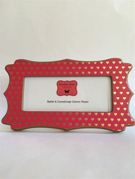 Cosmetology Business License Frames