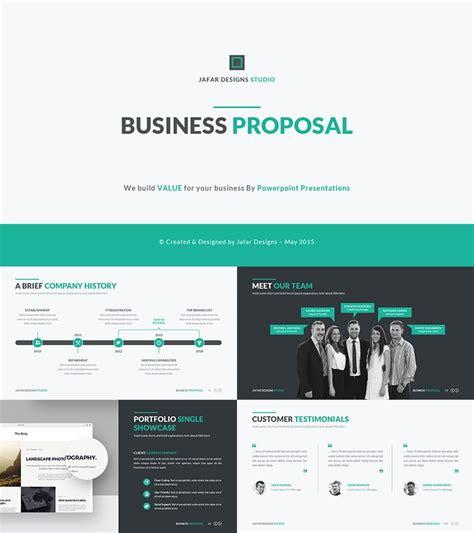 business plan proposal  template  deck ideas
